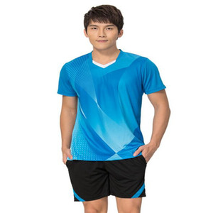 NEW 2 best Shirts 36 sports jersey fast shipping quick dry blue green all size S M L XL
