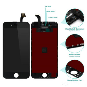 No Dead Pixel LCD For iPhone 6 Plus 6P LCD Display Screen Replacement Grade Display Touch Screen Digitizer Glass