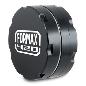Formax420 New 55mm CNC Aluminum Herb Grinder 2 Layers with logo 3 Colors Available
