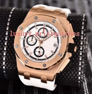 12 colori di moda N8 buona qualità Orologi da polso 26401 26400 25940 26470 42 millimetri 44mm elastici Strap Automatic Mens Orologi dell'orologio meccanico