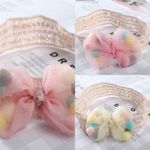 yay bandı Doll headdress saç bandı Bebek Dolunay saç aksesuarları değil le tou kız bebek yüz sevimli prenses çiçek headdress yapmak