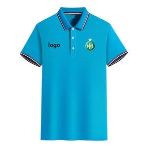 ASSE футбольный клуб Summer Мужская Slim Fit Golf Polo Футболка с коротким рукавом Поло Повседневная футболка Спортивная