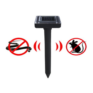 Dropship Outdoor Garden Mole Repellent Solar Power Ultrasonic Mole Snake Bird Mosquito Mouse Ultrasonic Pest Repeller Killer