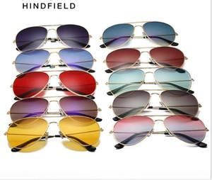 Driver's Mirror Metal Lady's Sunglasses UV400 Glasses