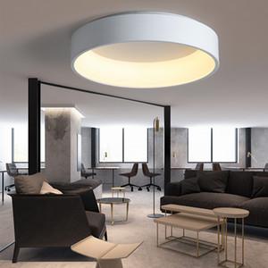 Factory Outlet Современные светодиодные люстры для гостиной Bed Room Домашнее украшение Алюминиевые потолочные люстры освещения Светильники