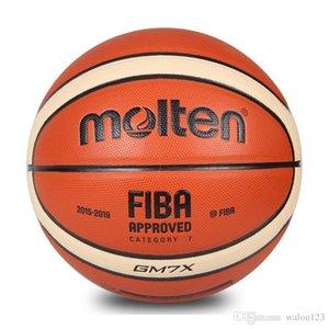 Vente en gros Molten Basketball GM7X Taille 7 PU cuir basket ball Sports de plein air Formation balle pour la Coupe du Monde de Match