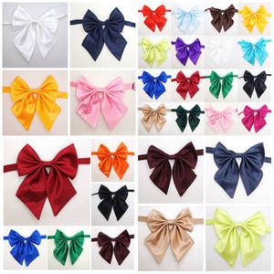 Hot 20 colors Adult children Pure color bowknot necktie accessories decoration Supplies Bow tie flower T10I0028