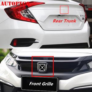 Tronco traseira vermelha do carro do emblema do emblema decalque adesivo Para Honda Civic Accord CRV CRV Odyssey Fit Cidade XR-V HR-V UR-V Pilot