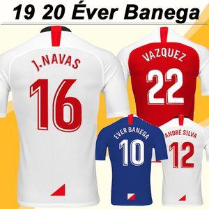19 20 MURIEL Futebol BEN Yedder Ever Banega Casa Fora 3º Mens camisas do futebol ANDRE SILVA J. NAVAS Camisetas masculinas de Fútbol Uniforme