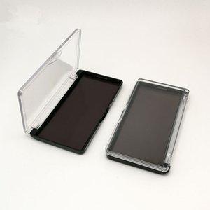 Caixa de maquiagem retangular Magnet Caixa dispensadora Caixa de sombra de batom prato de armazenamento vazio blush F3387