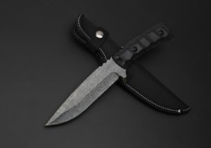 Honor K608 5.3inch straight Knife fixed blade Camping Tactical knife Knives xmas gift knife for man a850 Adul