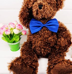 100 pc del commercio all'ingrosso Pet copricapo cravatta Cane collo Bow Tie Cat cravatta Pet grooming multicolore può scegliere