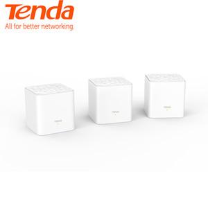 Сетевая гигабитная система Tenda Nova MW3 для всей домашней сети с беспроводным WiFi-маршрутизатором AC1200 2,4 ГГц / 5,0 ГГц и удаленным управлением приложения