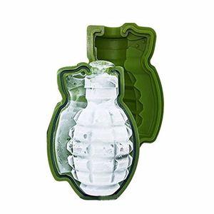 Nouvelle Creative 3D Grenade forme Ice Cube moule plateau Ice Cream Maker Parti Bar boissons whisky Vin Machine à glaçons silicone Bar Outils