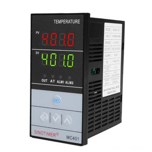 لوازم SINOTIMER قصيرة شل الإدخال PID تحكم في درجة الحرارة ترموستات درجة الحرارة منظم SSR التتابع الناتج الحرارة الزواحف مستلزمات الحيوانات الأليفة