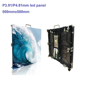 Hochwertige Bühne LED-Bildschirm P4.81 Indoor-Aluminiumdruckguss LED Cabinet500x500mm Professionelle LED-Anzeige Factory Video Wall