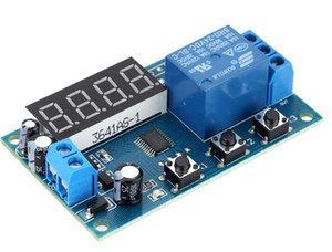 Multifunction Delay Time Relay Module Timing Switch Control Cycle Timer DC 12V LED Display Intelligent Control Time Relay Delay