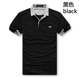 Nouvelle marque patron de haute qualité Polo luxe vêtements pour hommes occasionnels d'été de coton polos homme Polos T-shirt vêtements pour hommes
