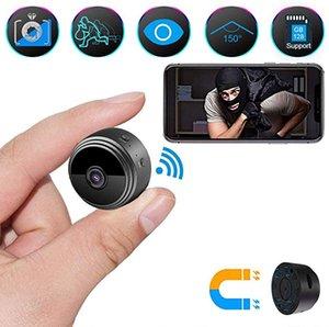 A9 WiFi Камера Беспроводная мини камера Full HD 1080P Портативный Главная Безопасность Скрытое Няни Cam Крытый Движение Активированный камеры ночного видения