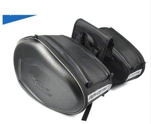 çanta yarış MotoCentric Motosiklet Gövde motosiklet kask çantaları su geçirmez çok fonksiyonlu yan çantayı Açık