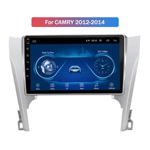 Android 10 de multimedias del coche DVD para Toyota Camry 2012-2014 estéreo GPS Navi Radio Audio Jefe Unidad BT mapa gratuito