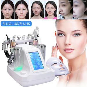 Hot New 12 in 1 Ossygen Jet Peel Water Hydrofacial Machine Photon Hydra Dermabrasion RF Bio-Lifting Spa MicroderMabrasion dispositivo facciale
