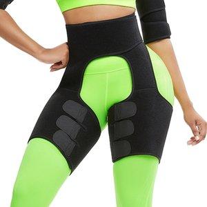 Slim taille Cuisse Trimmer Leg Shapers Svelte Ceinture amincissante néoprène Sweat muscles amincissants Toned Band Cuisse taille Wrap