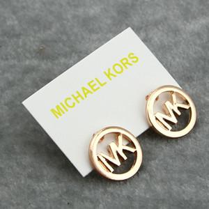 Luxary Brief Ohrstecker Frauen Mode-Design-Ohrring-Dame-Designer Rose Gold Silber Ohrring-Qualität edlen Schmuck-Schatz-Geschenke