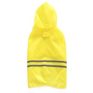 Reflective Strip Pet Dog Rain Coat Clothes Dog Puppy Casual Dog Raincoats Waterproof Jacket Costumes XXS-M 3 color Pet Supplies