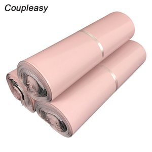 20Pcs Light Pink Shipping Bags Self-Seal Adhesive Courier Storage Bags Waterproof Plastic Mailing Thicken Post