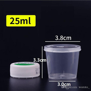 1OZ Disposable plastic portion cupCondiment Sauce Snack Souffle Dressing, Jello Shot Cup Containers Packing Boxes 25ml