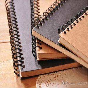 Kraft Kağıt Not Defteri Ofisi Yüksek Kalite Yaratıcı Sketchbook Graffiti bloknot Blank Notebook Sıcak Satış Malzemeleri