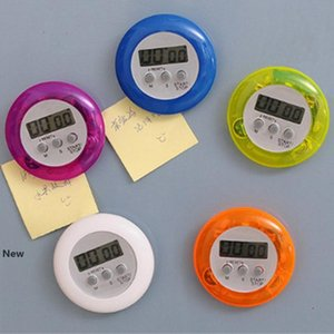 Cooking Timer Digital Alarm Kitchen Timers Gadgets Mini Cute Round LCD Display Count Down Tools ZZA1137