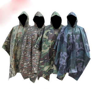 6 Style Adulte Homme Fashion Outdoor Walking Escalade Multi-In-One Camouflage Camouflage Capefat Cape-Colyeste DC572