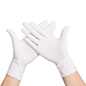 Monouso in nitrile Guanti di gomma elastica guanti per uso domestico Anti Skid pulizia guanto di gomma Lavori di casa protezione 500pcs Guanti CCA12194