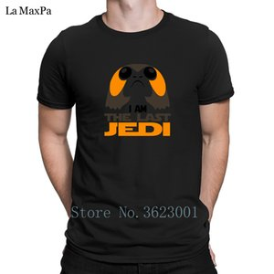 Create Normal Men T Shirt Spring Autumn Porg Jedi Design T-Shirt Great Clever Tshirt For Men Big Sizes Tee Shirt Top Tee