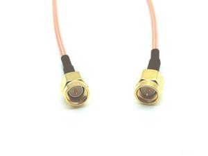 30PCS 15CM cable SMA Jack plug to SMA male plug straight crimp RG316