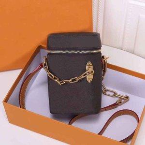 New Cross Corpo Designer Handbag Marca Bolsas homens e mulheres Telefone Bolsas Boa Qualidade Shell Bolsas de Ombro Moda Luxo Telefone Box Bolsa