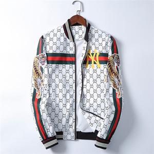 Abiti Blazers Designer giacca Giacche a vento Sportswear Cappuccio Abbigliamento Zipper Collare Plaid Stampato Uomo Slim nuovi uomini di autunno
