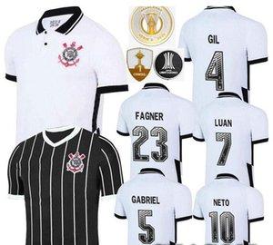 novo 2018 2020 2021 Corinthian Paulista de Futebol Jersey 20 21 # 10 PEDRINHO M.BOSELLI # 7 LUAN Vagner Love FAGNER Football Shirt Uniforme