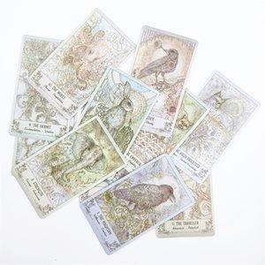 غامض Spiritsong التارو سطح السفينة بطاقات مجلس الحزب لعبة الترفيه العائلي 78 بطاقات / مجموعة أخرى جولف المنتجات