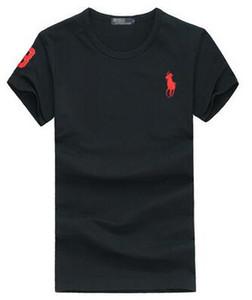 C7 2020 Summer grand petit CHEVAUX CROCODILES t-shirt de bonne qualité, plus la taille Hommes col rond en coton à manches courtes Polo shirt taille Casual S-3XL