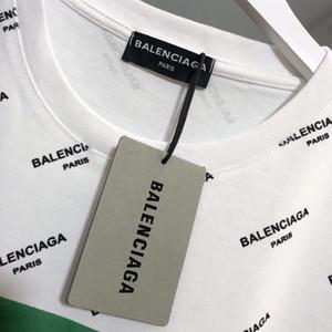 Designertshirts Monogram Lettera geometrico stampato Moda T-shirt Estate traspirante Tee casuale semplice Uomini manica corta donne di strada