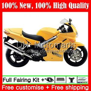Cuerpo para HONDA Interceptor amarillo brillante VFR800R VFR800RR 98 99 00 01 68MT3 VFR800 VFR 800RR 800 RR 1998 1999 2000 2001 Carenado Carrocería