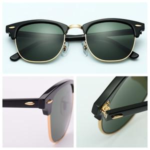 designer óculos homens mulheres óculos de sol vidros reais superiores sol qualidade com a caixa preta ou marrom de couro, pano, e todos os acessórios de varejo !!!