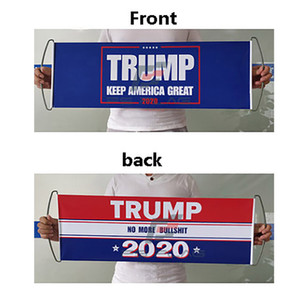 Donald Trump Flag Trump Hand Hand Bandiera bifacciale stampato paraurti Keep America Great Flag Banner 2020 President Election Flags WX9-1576
