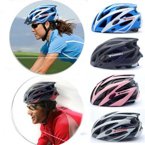 Новый женщин мужчин унисекс повышен взрослый MTB велосипед Велосипед дорожный Велоспорт безопасности шлем 21 отверстия