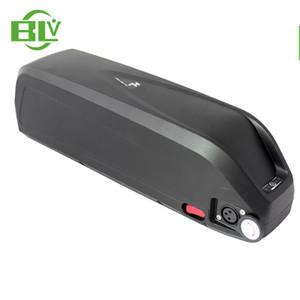 54.6V şarj cihazı ile 48V 1000W Bafang Ebike için ücretsiz nakliye 48V 17AH Hailong Downtube Elektrikli bisiklet lityum pil