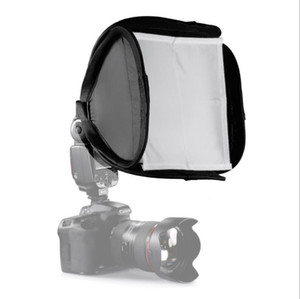 Photographic equipment SLR camera top flash soft box 23*23cm soft cover Portable soft cover softbox Universal