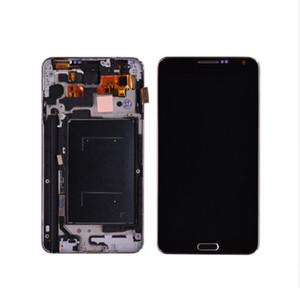 Samsung Galaxy Note için 3 N9005 Çerçeve Çerçeve Meclisi Ile Dokunmatik Ekran Digitizer ile LCD Ekran